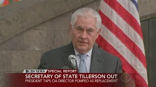 Rex Tillerson Out As Secy. Of State