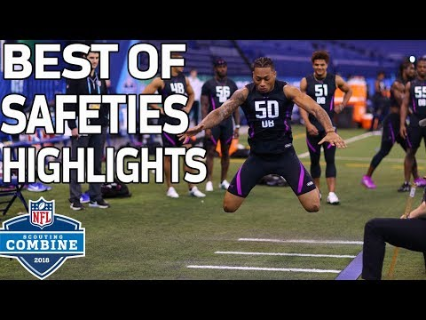 Best of Safeties Workouts!   NFL Combine Highlights