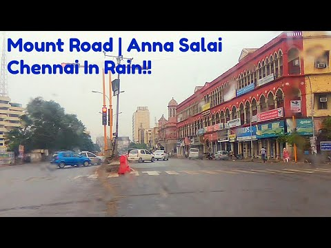 Driving Through Chennai City In Rain Part- 5: Anna Salai Mp3