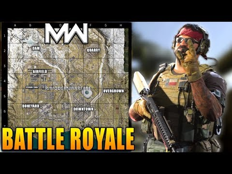 Modern Warfare: Battle Royale Massive Leaks (Map, 200 Players and More)