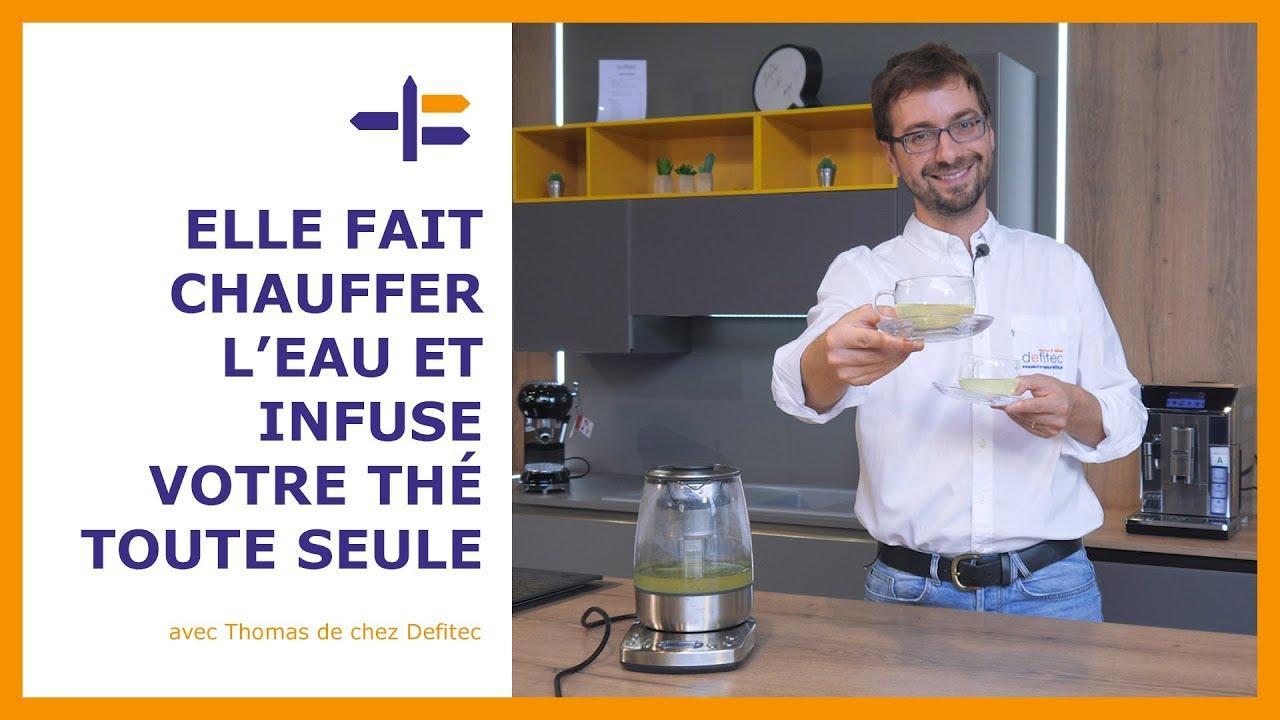 Une bouilloire qui prépare le thé toute seule ! Découvrez cette machine à thé SOLIS