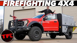Here's How You Build A Ford F-550 Into A Firefighting Brush Truck!