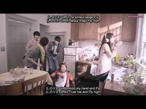 CN Blue - Love Girl Mv Eng Sub & Romanization Lyrics