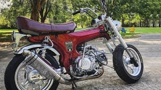 190cc Honda Trail 70 Build | TOTAL RESTOMOD