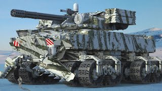10 Most Insane Military Vehicles