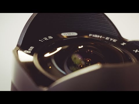 FISHEYE FUJI!! Rokinon 8mm 2.8 Fisheye II, real-world review