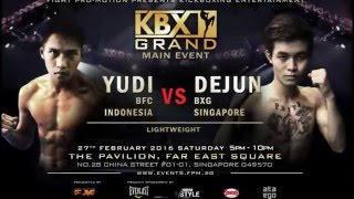 Video KBX Grand - The Main Bout Introduction