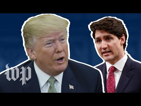 A brief history of Trump's relationship with Trudeau