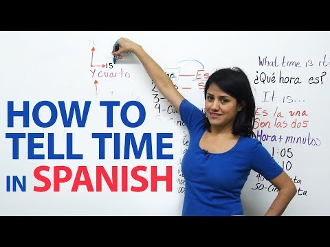 mp4 Learning To Tell Time In Spanish, download Learning To Tell Time In Spanish video klip Learning To Tell Time In Spanish