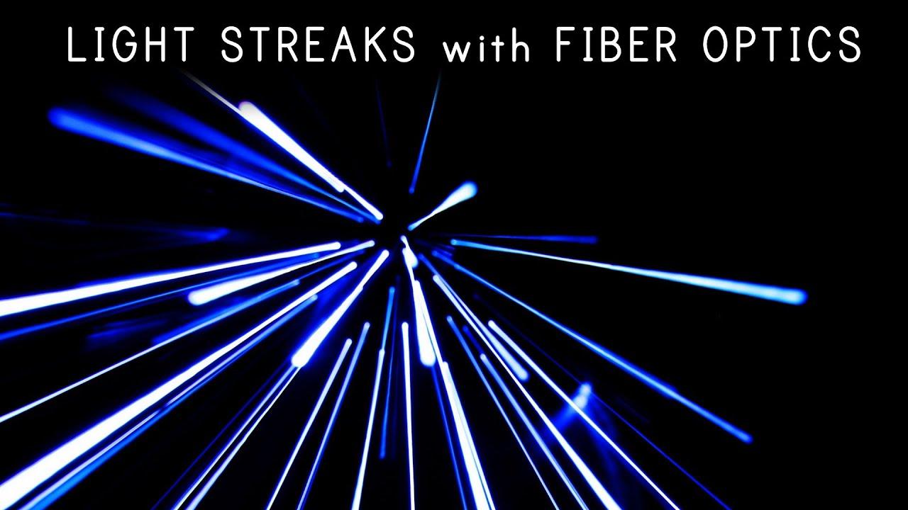 How Fibre Optics Can Make Crazy Hyperspace Visuals