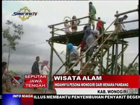 Video Wisata Alam - Indahnya Pesona Wonogiri dari Menara Pandang