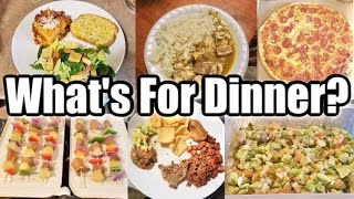 WHAT'S FOR DINNER? | EASY & BUDGET FRIENDLY FAMILY MEAL IDEAS 2020 | Crystal Evans