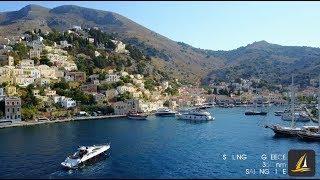 Путешествие на яхте по греческим островам
