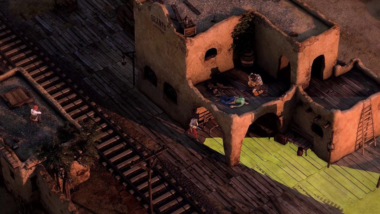 Обзорный трейлер игры Desperados 3