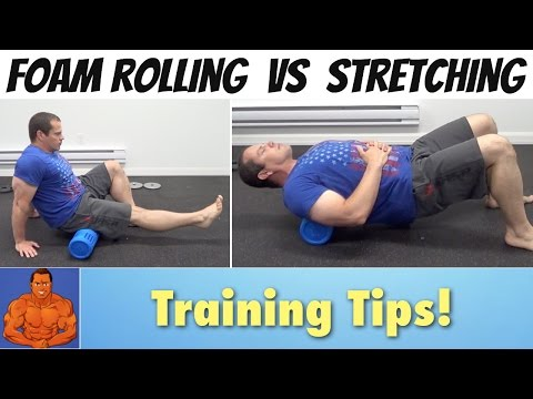 Foam Roller Vs Stretches
