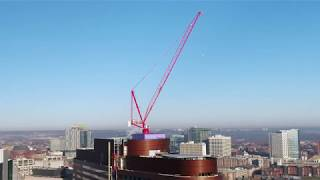 Tower Crane Dismantle at the Penn Medicine Pavilion Project