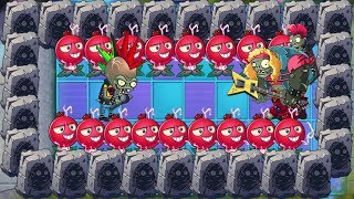 Pvz 2 - Chomper, Wasabi Whip, Electric Currant vs all Zombies