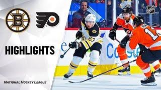 NHL Highlights   Bruins @ Flyers 1/13/20