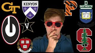 2018 College Decision REACTIONS (Ivy League, Stanford, and MORE)
