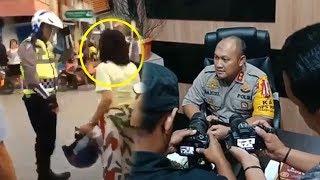 Wanita Marahi Polisi di Tengah Jalan, Kapolres: Pernah Juga Marah-marah di Bandara dan Kapal