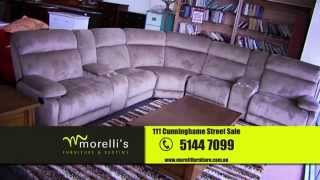 preview picture of video 'Morelli's Furniture & Bedtime, biggest and best range in Gippsland'
