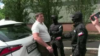 Задержание замглавы Оренбурга Геннадия Борисова. Оперативная съемка