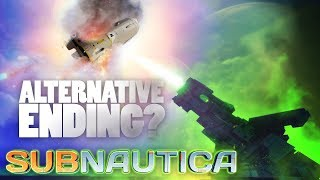 Subnautica's BAD Ending!? - Launching The Rocket While INFECTED! The Gun Is Still ON! - Full Release