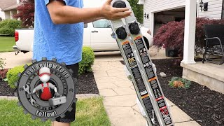 Gorilla MPX Aluminum Multi Position Ladder  (mpx17) FULL REVIEW And INSTRUCTIONS!