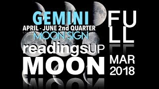 Gemini Moon Sign 2nd Quarter 2018 Reading