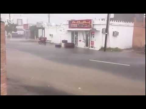 Watch: Rainy day in Shinas, North Al Batinah in Oman
