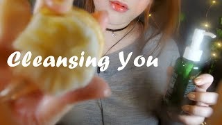 ASMR Cleansing  You ✨😊✨ 얼굴닦아주기