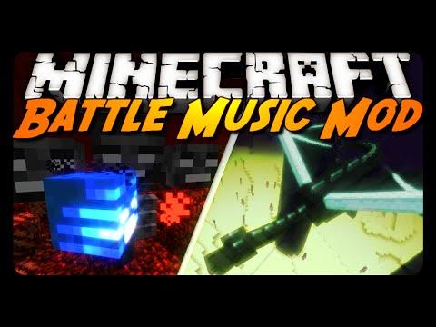 Minecraft Mod Review: BOSS / BATTLE MUSIC!