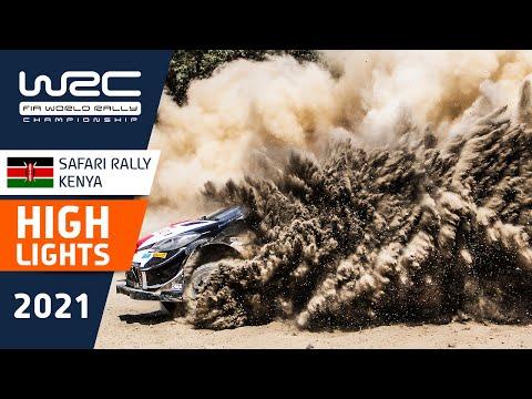 WRC 2021 WRC第6戦ラリー・ケニア SS16-18のハイライト動画