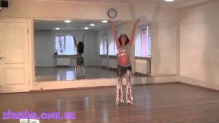 Смотреть онлайн Урок как научиться восточным танцам дома
