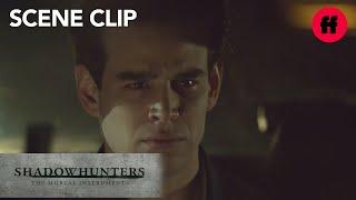 Shadowhunters | Season 2, Episode 15: Simon Realizes He Isn't The Killer | Freeform