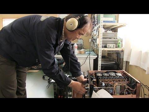 サンスイの音色、OBが守る 修理依頼絶えぬ埼玉の工場