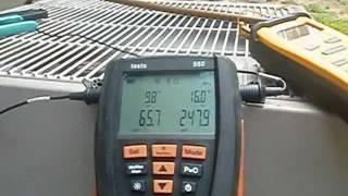 HVAC : Testing Superheat With The Testo 550 Louisville Kentucky