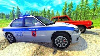 Мультики про машинки - Полицейские машины ГАИ и Русские дороги| Лучший Мультфильм для мальчиков 2018