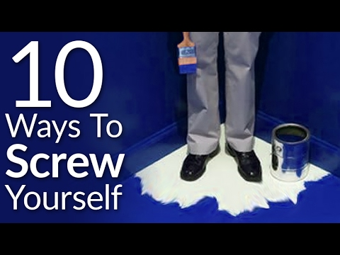 10 Ways You Screw Yourself Over | Stop Shooting Yourself In The Foot | Self Improvement Video