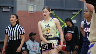 FRESHMAN Jennah Isai Is Something SPECIAL | Highlights @ Cal Sparks Cali Classic Tournament