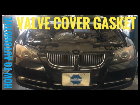 Download How To Replace A Valve Cover Gasket Bmw N54 335i | Dangdut