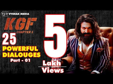 Top 25 KGF Powerful Dialogues