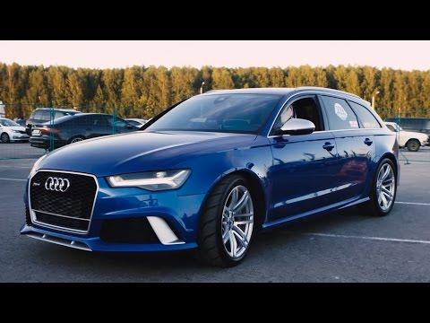 Audi  RS6 Avant Универсал класса A - тест-драйв 3
