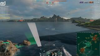 World of Warships - 1DD & 2BBs enter the arena