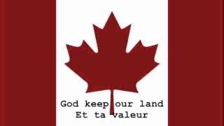 National Anthem of Canada Instrumental with lyrics