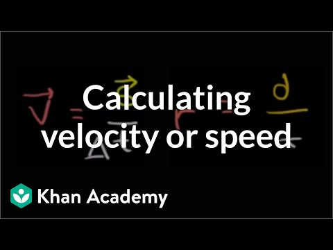 8ae1fa0287 Calculating average velocity or speed (video)