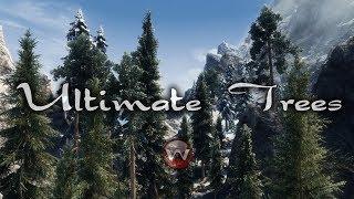ULTIMATE TREES 2019 DynDOLOD 3D Ultra Trees with Enhanced Vanilla Trees
