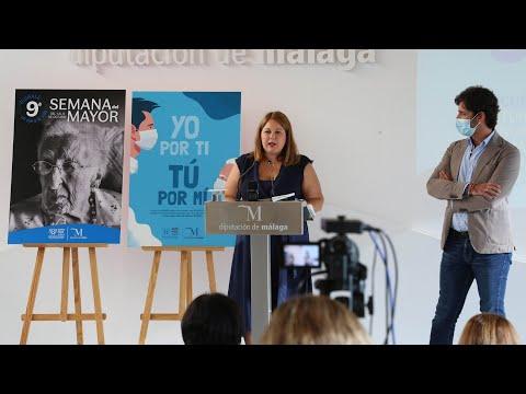 Presentación de la Semana del Mayor en la Diputación de Málaga