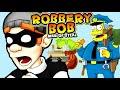 ВОРИШКА БОБ УБЕГАЕМ ОТ ПОЛИЦЕЙСКОГО ПСА веселое ВИДЕО ПО ИГРЕ Robbery Bob 7