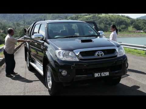 New Toyota Hilux 3.0G Product Video - Kuala Lumpur